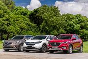 单挑日美SUV:名爵HS、别克昂科威、本田CR-V静态对比