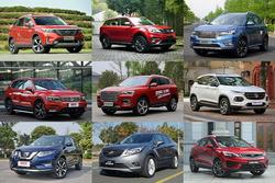 ?1-8月SUV市场分析:整体增速放缓,德系强势搅局