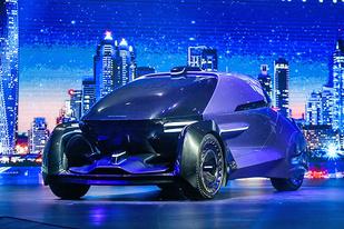 新晉造車品牌,華人運通三款概念車發布