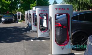 特斯拉计划将超级充电网络扩大一倍