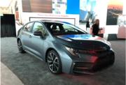 洛杉磯車展:基于全新TNGA平臺打造,豐田卡羅拉三廂美版