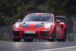 6分40秒3!911 GT2 RS MR創紐北新紀錄