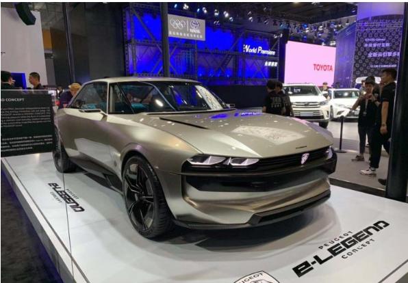 广州车展:复古外观+高科技装备,标致e-Legend概念车