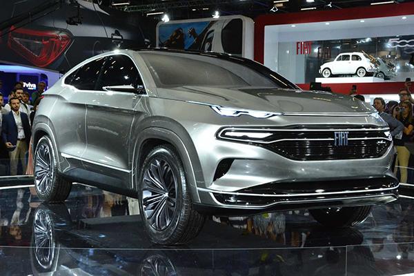 进军轿跑SUV 菲亚特Fastback概念车首发