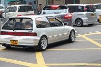 这是什么年代的思域?在香港偶遇,随心拍,图片可能不清楚