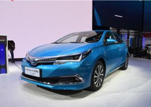 推4款车型,丰田卡罗拉插电混动版最新信息