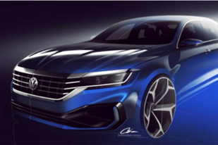 新一代Passat美版 明年1月北美车展发布