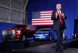 不想好了?特朗普仍考慮加征汽車關稅