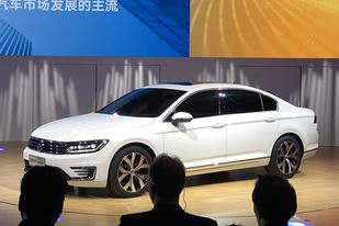 或搭1.4T+电动机,一汽-大众迈腾GTE概念车亮相
