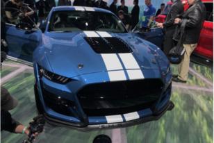 北美车展:搭5.2升机增动力,福特新一代Mustang GT500