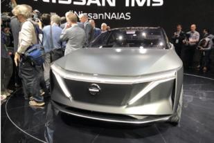 北美车展:展示未来纯电动车设计趋势,日产IMs概念车