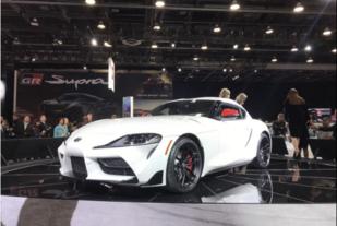 北美车展:约合人民币33.74万元起,新一代丰田Supra发布