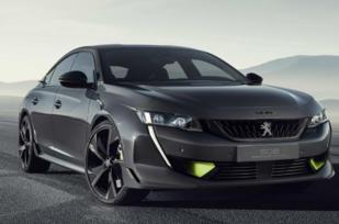 标致508高性能概念车官图发布,日内瓦车展首发