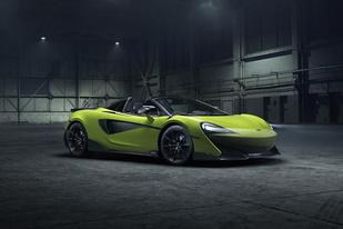 百公里加速2.9秒,迈凯伦600LT Spider将于2月20日上市