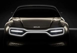 起亚全新电动车概念图发布,日内瓦车展亮相