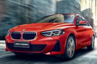 新BMW 1系三厢上市,共四款车型,售19.99万元起