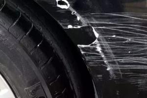 如何面对划车党?别着急,漆面保护膜为你保驾护航