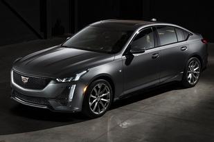凯迪拉克CT5官图发布,新车为后驱布局,含两种动力选择