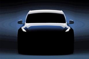 特斯拉Model Y预告图 3月14日正式发布