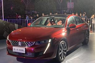 东风标致508L新车上市:售价为15.97-22.57万元