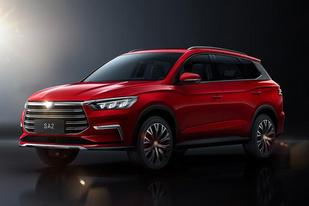 比亚迪发布全新紧凑型SUV SA2官图,或成为宋的换代车型
