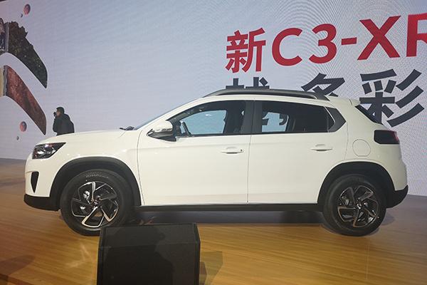 雪铁龙C3-XR改款上市,售价区间为9.48-11.58万元