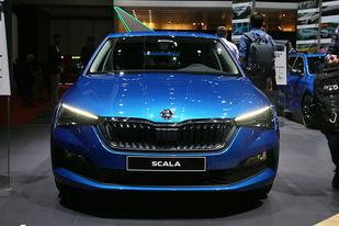 日内瓦车展:斯柯达SCALA正式发布