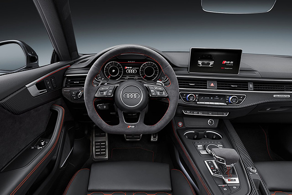 奥迪RS5/RS4 Avant将于四月初上市,现已逐步接受预定