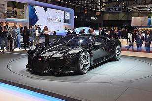 布加迪表示下一代车型将有可能是纯电动车型