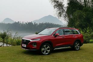 现代第四代胜达开启预售,新车预售价为21.28-28.88万元