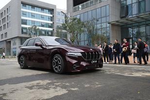 排放只有水,格罗夫首款氢能车亮相,于上海车展开启预售
