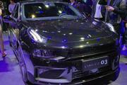2019上海车展之领克03 2.0TD上市 售15.48-16.68万元