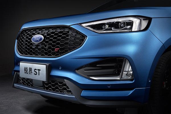 福特高性能SUV 锐界ST细节曝光,将于上海车展发布