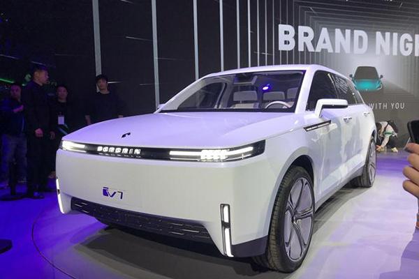 自主品牌电动汽车博郡全球首秀:旗下两款概念车型发布