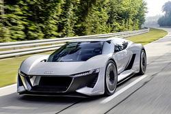 2022年奥迪E-Tron GTR纯电轿跑或将取代R8