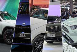 豪门、电动、SUV轿跑当道 2019上海车展新车发布合集