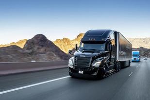 投資5億歐元,戴姆勒計劃十年內上路L4級自動駕駛卡車
