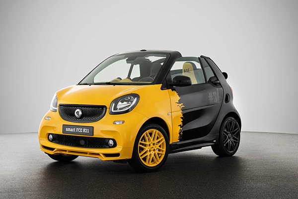 最后的绝唱 Smart发布21辆内燃版限量车型