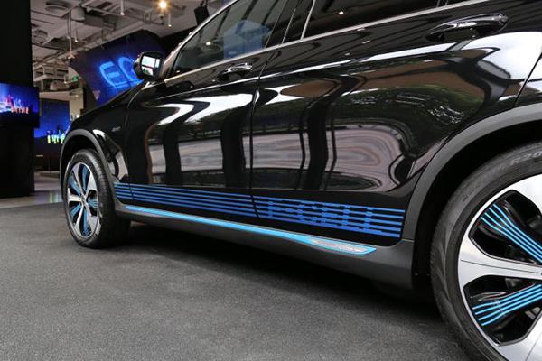 奔驰首款氢燃料电池动力车型GLC F-CELL在国内正式亮相