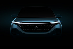 与概念车基本相似 新宝骏全新车型外观局部图发布