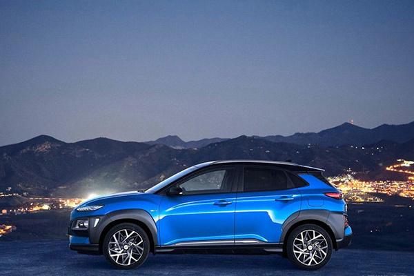 现代昂西诺 Hybrid车型官图发布,综合油耗为3.26L/100km