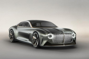 慶祝品牌成立100周年,賓利發布EXP 100 GT概念車官圖