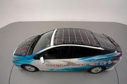 丰田成功研发车载太阳能电板,可增加续航里程44.5km