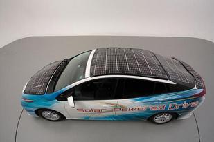 豐田成功研發車載太陽能電板,可增加續航里程44.5km