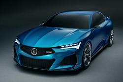 讴歌发布全新Type S概念车官图 或将引导下一代TLX的设计