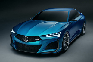 謳歌發布全新Type S概念車官圖 或將引導下一代TLX的設計