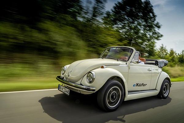 复刻版纯电甲壳虫将亮相法兰克福 日后将有更多复刻老车