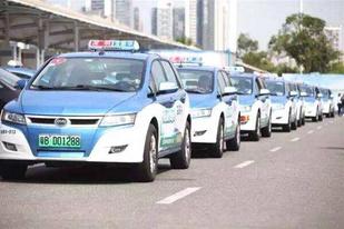 深圳新規:新注冊網約車必須為純電動汽車