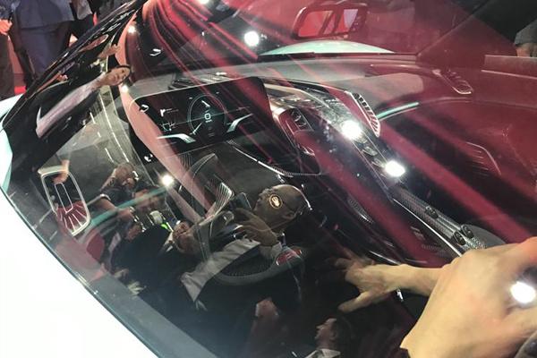 法兰克福车展:红旗超跑概念车亮相,最大马力超1400匹