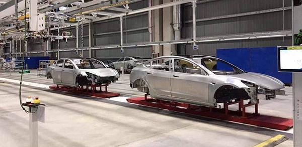 白车身已下线,特斯拉上海超级工厂或于10月14日投产